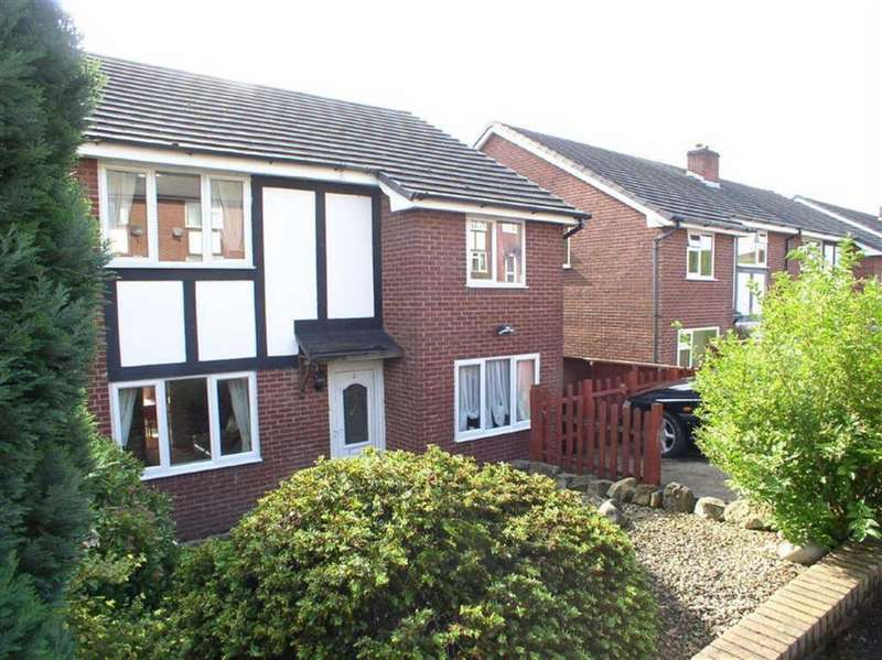 4 Bedrooms Semi Detached House for sale in Maes Derwen, Welshpool, SY21