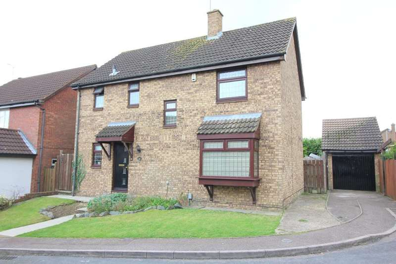 4 Bedrooms Detached House for sale in Snowford Close, Luton, Bedfordshire, LU3 3XU