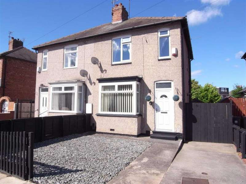 2 Bedrooms Semi Detached House for sale in Geneva Crescent, Darlington