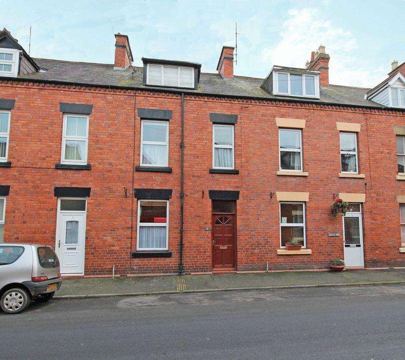 3 Bedrooms Terraced House for sale in Westbourne Terrace, Market Street, Llangollen