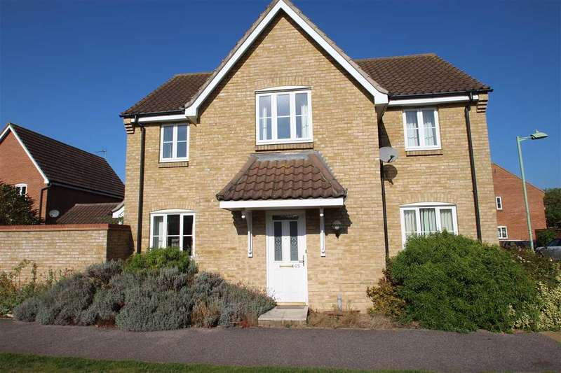 4 Bedrooms Detached House for sale in Wilkinson Drive, Grange Farm, Kesgrave, Ipswich