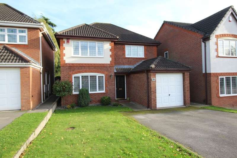4 Bedrooms Detached House for sale in Merlin Way, Mickleover, Derby, DE3