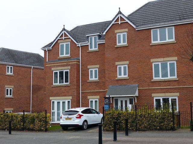 2 Bedrooms Ground Flat for sale in Somerton Court,Short Heath Road,Erdington