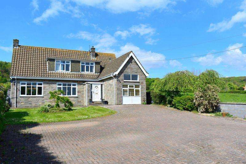 3 Bedrooms Detached House for sale in Clevedon Road, Tickenham