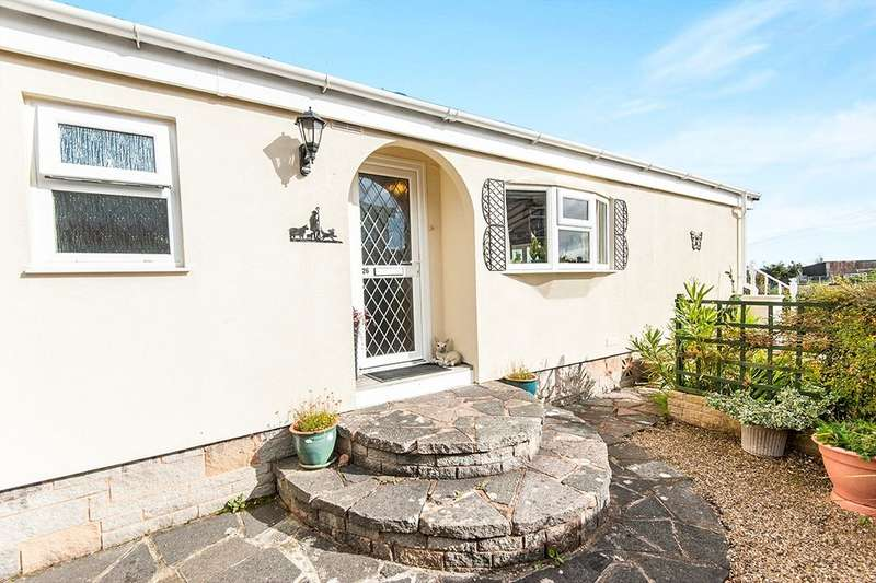 2 Bedrooms Detached Bungalow for sale in The Firs, Bakers Hill, Exeter, EX2