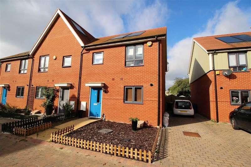 3 Bedrooms End Of Terrace House for sale in Heathland Way, Woodside