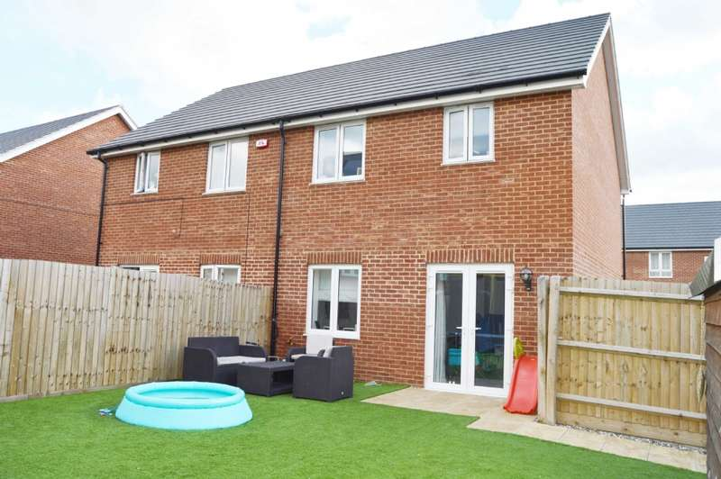 3 Bedrooms Semi Detached House for sale in Colburn Way, Grays