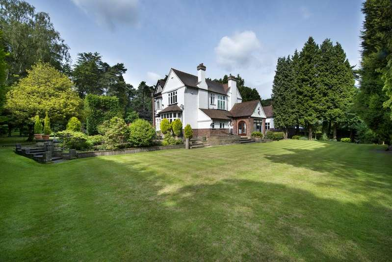4 Bedrooms Detached House for sale in Streetly Wood, Sutton Coldfield, B74 3DQ
