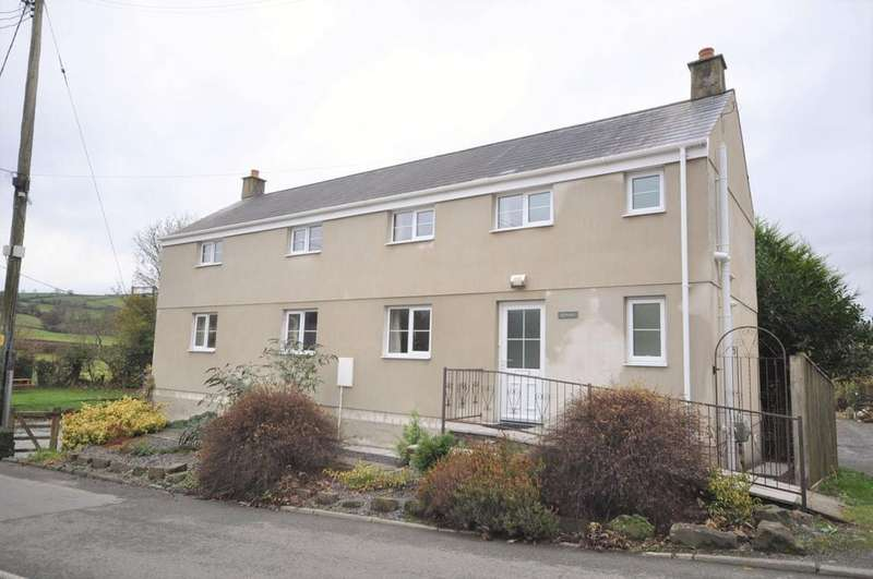 3 Bedrooms Detached House for sale in Ty Bont, Station Road, Meidrim, Carmarthen SA33 5QE