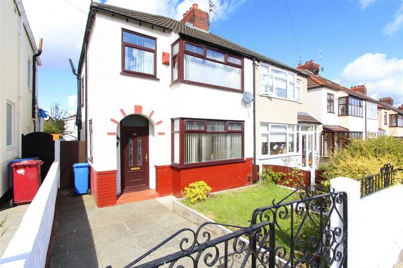 3 Bedrooms Semi Detached House for sale in Swanside Road, Swanside, Liverpool