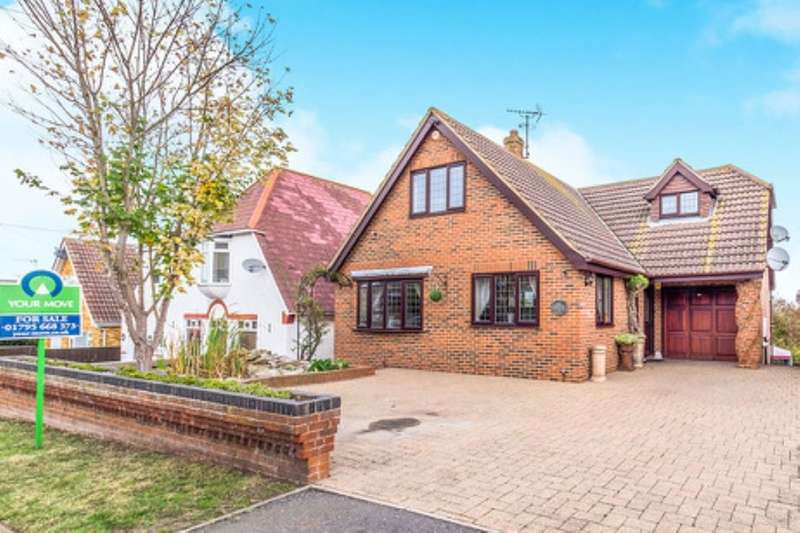 4 Bedrooms Detached House for sale in Sanspareil Avenue, Minster On Sea, Sheerness, ME12