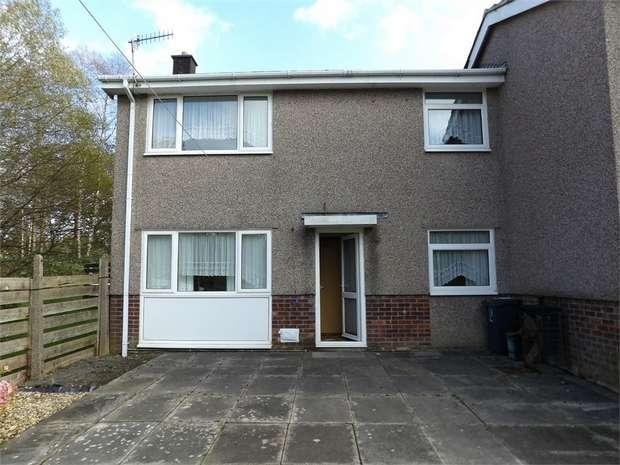 2 Bedrooms Semi Detached House for sale in Min Y Rhos, Ystradgynlais, Swansea, Powys