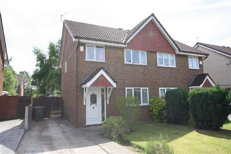 3 Bedrooms Link Detached House for sale in Allgreave Close, Sale