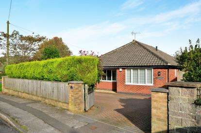 3 Bedrooms Bungalow for sale in Siddalls Drive, Sutton In Ashfield, Nottinghamshire, Notts