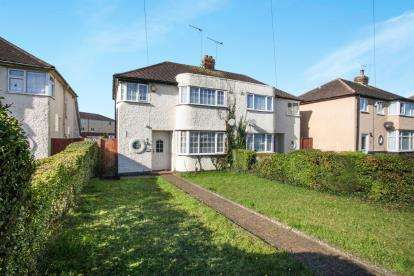 3 Bedrooms Semi Detached House for sale in Sundon Park Road, Luton, Bedfordshire, Sundon Park