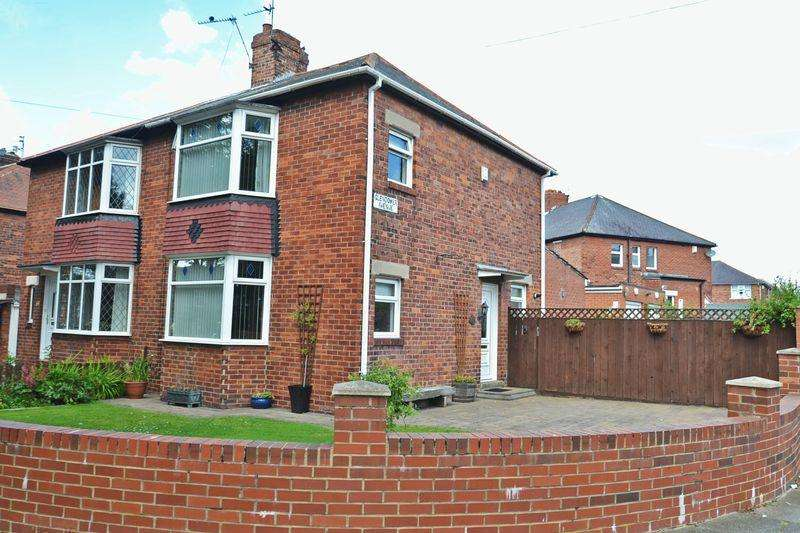 3 Bedrooms Semi Detached House for sale in Glendower Avenue, North Shields