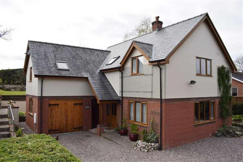 5 Bedrooms Detached House for sale in 7, Ael Y Bryn, Carno, Caersws, Powys, SY17