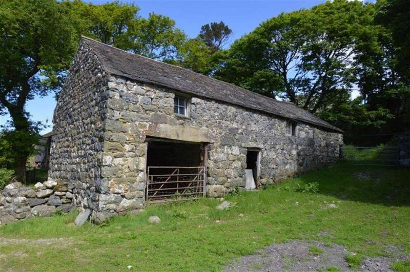 Land Commercial for sale in Land And Buildings, Trefaes, Rhoslefain, Gwynedd, LL36
