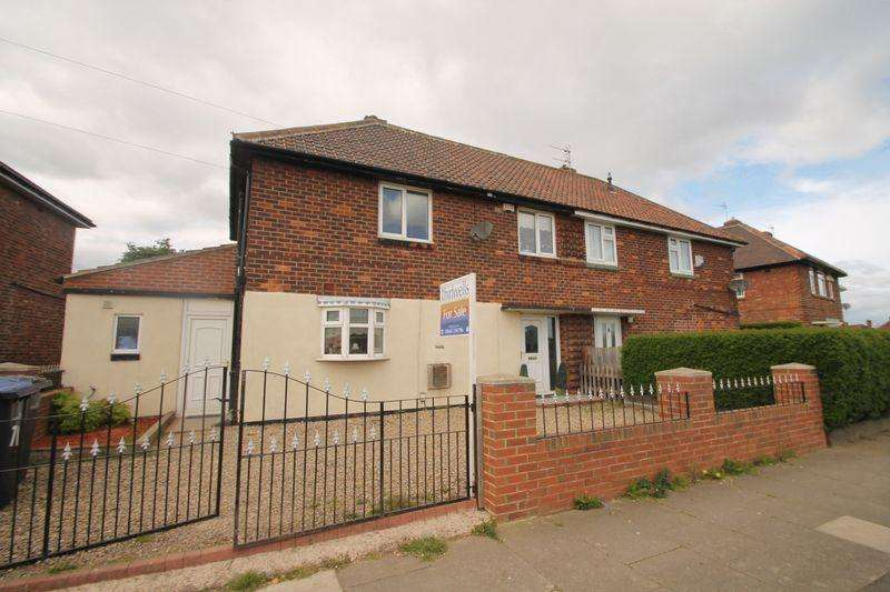 3 Bedrooms Semi Detached House for sale in Spencerfield Crescent, Thorntree