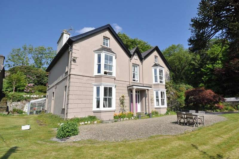 5 Bedrooms Detached House for sale in Plas Talardd, Maesycrugiau, Carmarthenshire, SA39 9DN