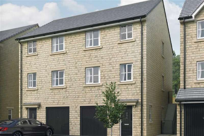 3 Bedrooms Semi Detached House for sale in The Holme, Lindley, Huddersfield, HD3