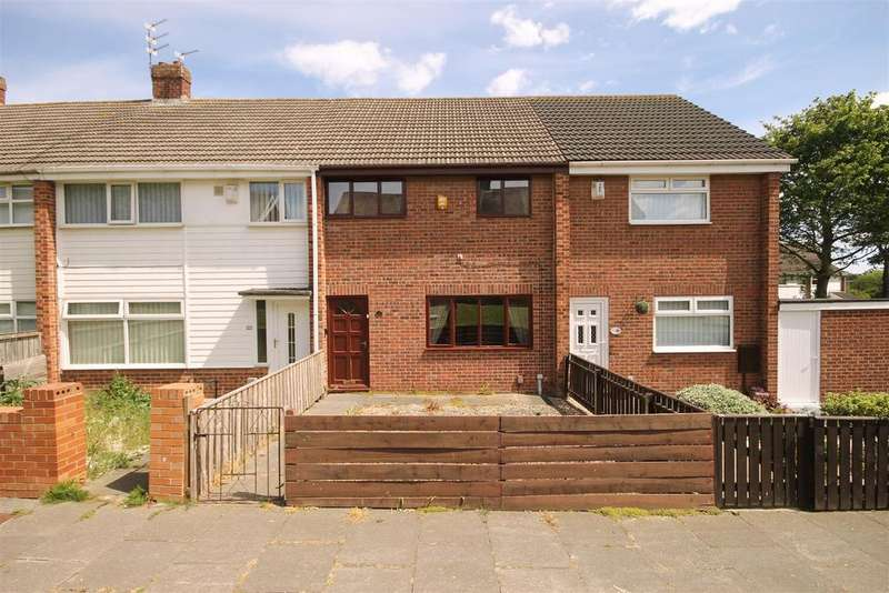 3 Bedrooms Terraced House for sale in Dodsworth Walk, Clavering, Hartlepool