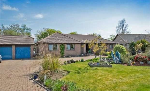 4 Bedrooms Detached House for sale in French Drive, Alford, Aberdeenshire
