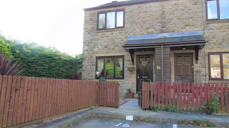 2 Bedrooms End Of Terrace House for sale in Waterside Fold, Hebden Bridge, HX7