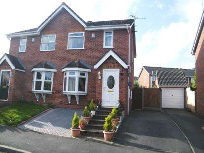 2 Bedrooms Semi Detached House for sale in Coningsby Drive, Winsford, Cheshire, England