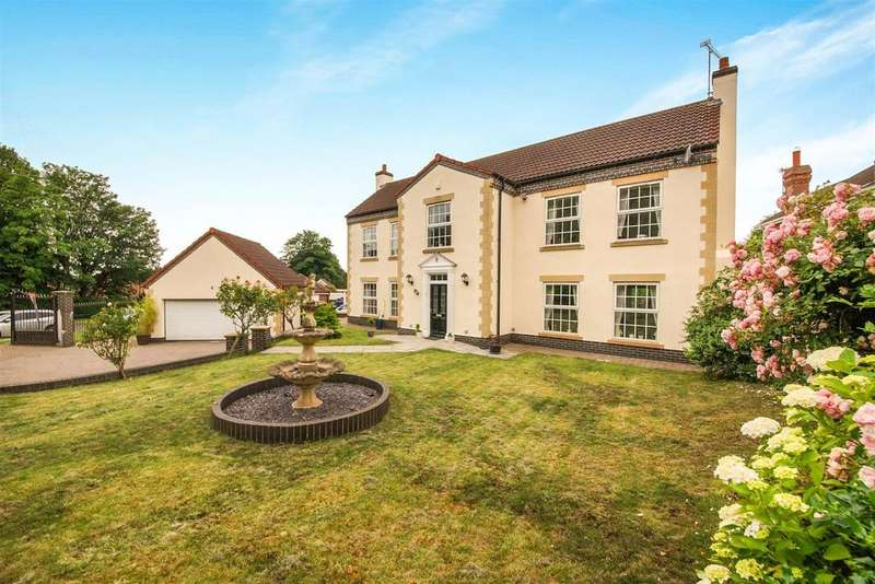 4 Bedrooms Detached House for sale in Welton Old Road, Welton