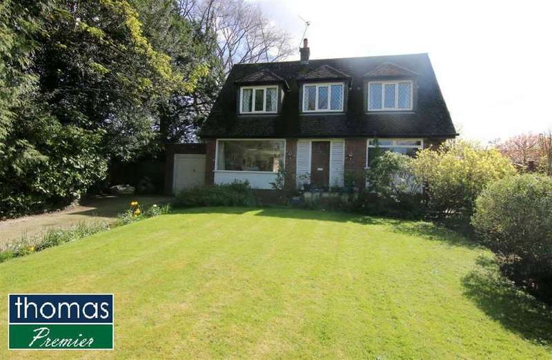 4 Bedrooms Detached House for sale in School Lane, Guilden Sutton