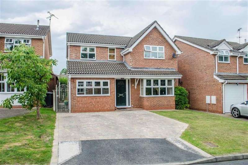 4 Bedrooms Detached House for sale in Cannon Way, Higher Kinnerton, Chester, Chester