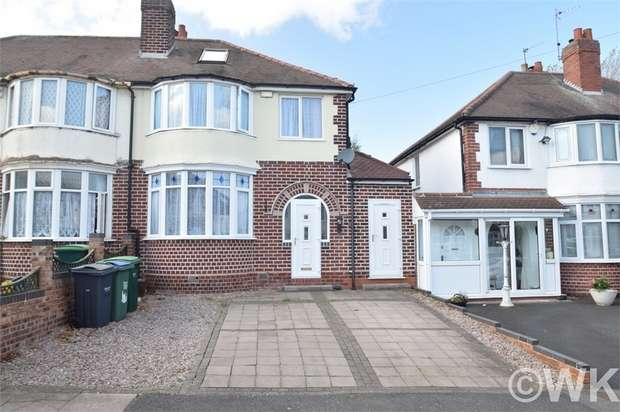 3 Bedrooms Detached House for sale in Stanley Road, WEST BROMWICH, West Midlands