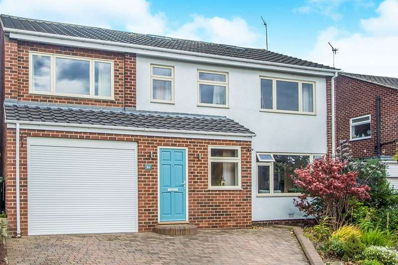 5 Bedrooms Detached House for sale in Elm Court, Whickham, Newcastle Upon Tyne, NE16