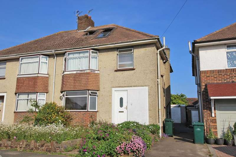 4 Bedrooms Semi Detached House for sale in Larkfield Way, Brighton BN1