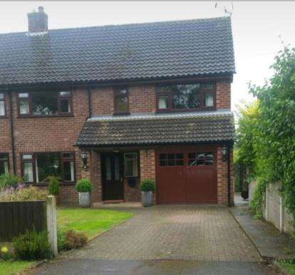 4 Bedrooms Semi Detached House for sale in Clay Lane, Marton, Cheshire, England