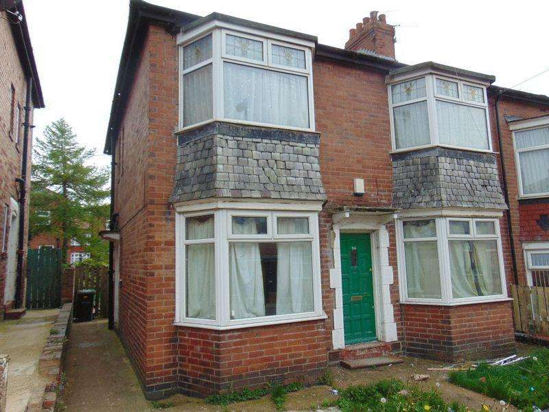 2 Bedrooms Ground Flat for sale in Fairholm Road, Newcastle Upon Tyne