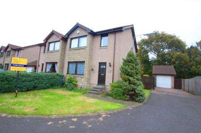 3 Bedrooms Semi Detached House for sale in Almondbank, Glenrothes