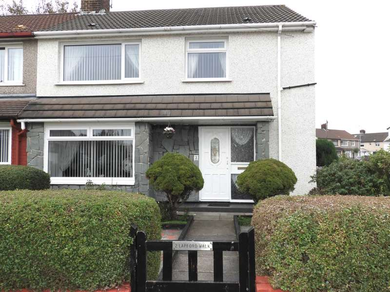 4 Bedrooms Semi Detached House for sale in Lapford Walk, Liverpool
