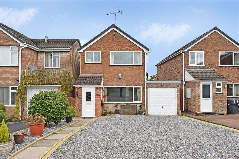 3 Bedrooms Detached House for sale in Moorfield Drive, Bromsgrove