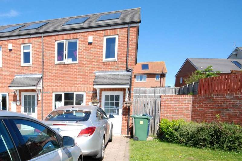 2 Bedrooms House for sale in Ladybank, Beckwith Green, Doxford Park