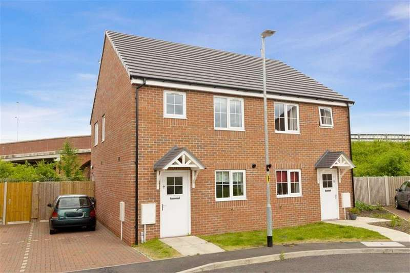 2 Bedrooms Semi Detached House for sale in Engineers Court, Loughborough, LE11
