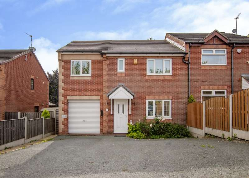 4 Bedrooms Semi Detached House for sale in Castlebeck Drive, Sheffield, South Yorkshire, S2