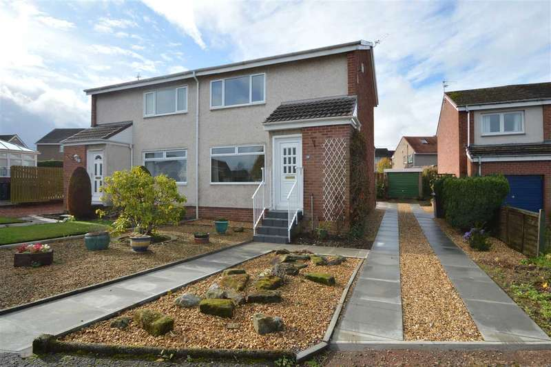 2 Bedrooms Semi Detached House for sale in Saltire Crescent, Larkhall