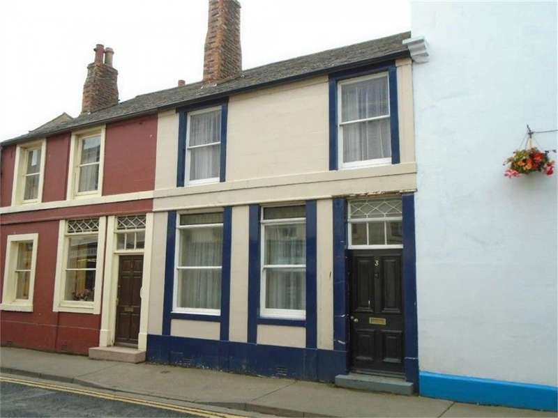 3 Bedrooms Town House for sale in CA7 9NP West Street, Wigton, Cumbria