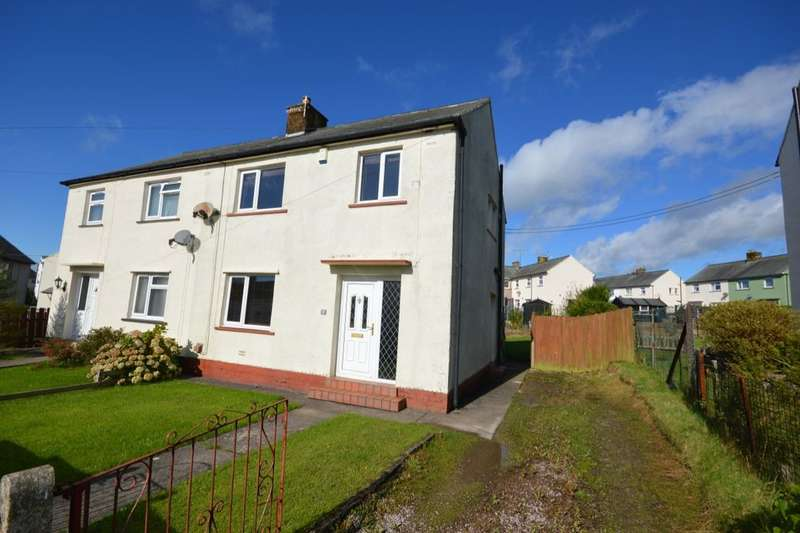 3 Bedrooms Semi Detached House for sale in Greystone Place, Cleator Moor, CA25