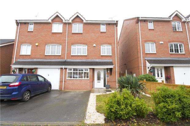 3 Bedrooms Semi Detached House for sale in Stone Meadow, Keresley End, Coventry, Warwickshire