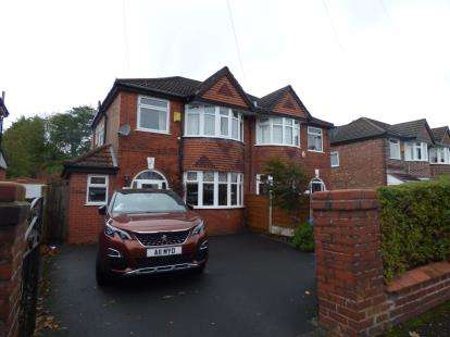 3 Bedrooms Semi Detached House for sale in Conway Road, Sale Moor, Sale, Greater Manchester