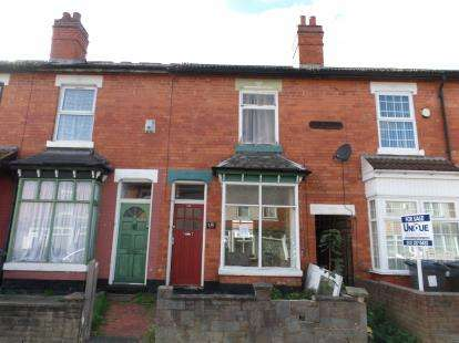 2 Bedrooms House for sale in Solihull Road, Sparkhill, Birmingham, West Midlands