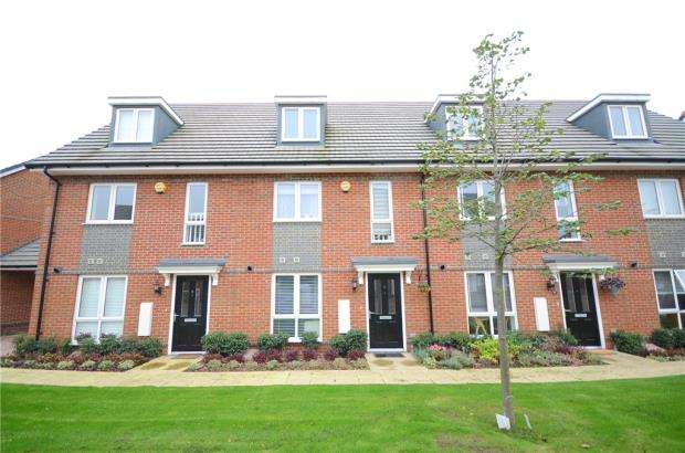3 Bedrooms Terraced House for sale in Fullbrook Avenue, Spencers Wood, Reading